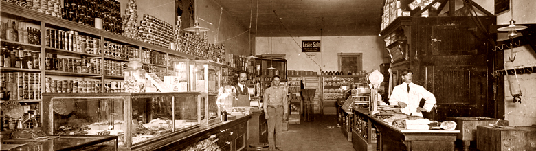 Photo: Andersons Grocery circa 1907