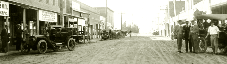 Photo: Harvard Street Looking North circa 1910-1915